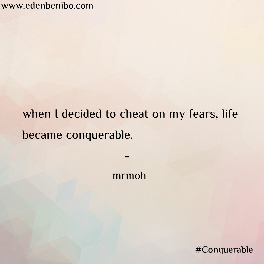 Conquerable -By- Mo Mukti